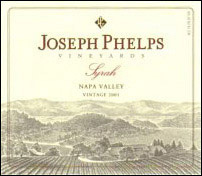 2001 Joseph Phelps Vineyards Syrah